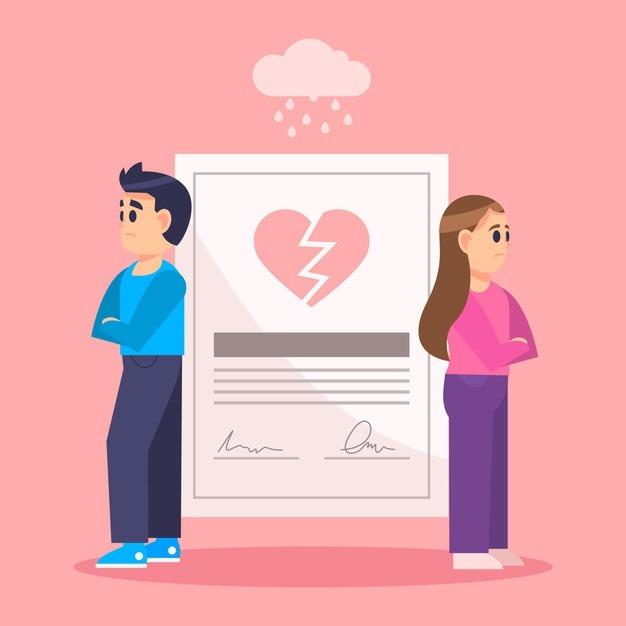 divorce-concept-with-upset-couple-23-2148600374